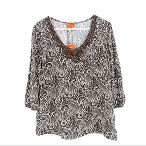 Relax by Tommy Bahama Star apples women's top